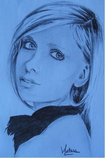 Sarah Michelle Gellar by chamalow
